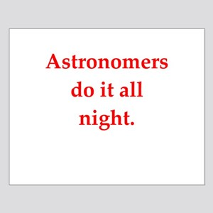 funny astronomy joke Small Poster