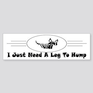 Hump Bumper Sticker