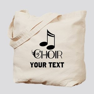 Personalized Choir Musical Tote Bag