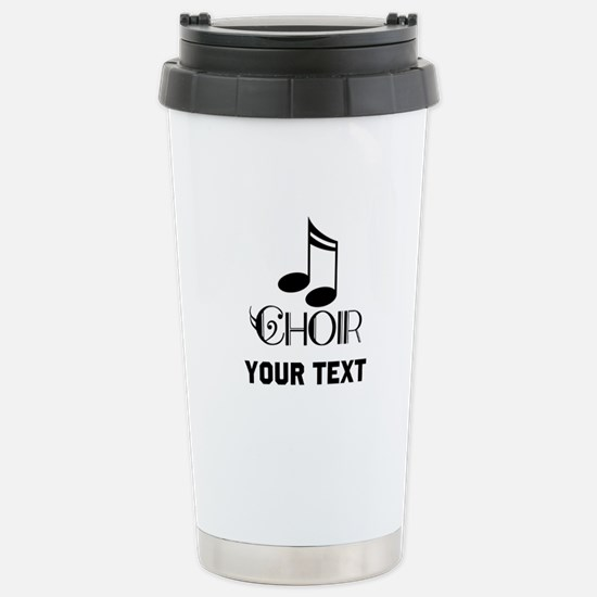 Personalized Choir Musical Stainless Steel Travel