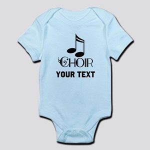 Personalized Choir Musical Infant Bodysuit