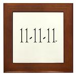 11-11-11 Framed Tile
