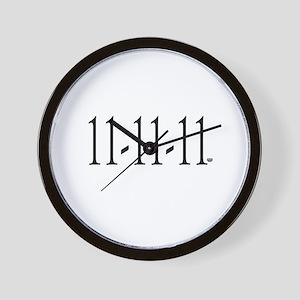 11-11-11 Wall Clock
