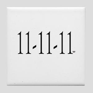 11-11-11 Tile Coaster