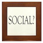 Social Framed Tile