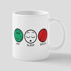 Eat Sleep Bocce Mug