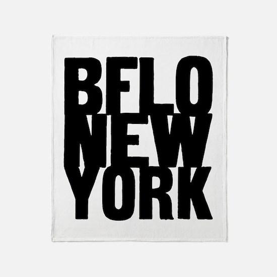 BFLO NEW YORK Throw Blanket