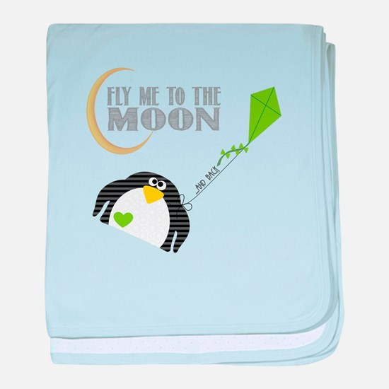 Felix, The Penguin baby blanket