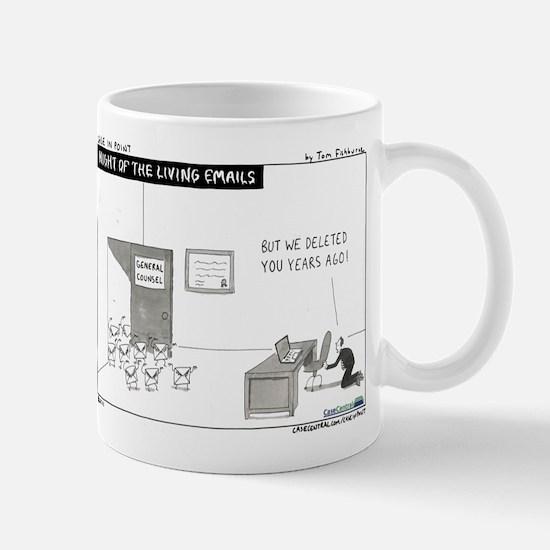 Night of the Living Emails Mug