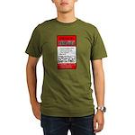 Zombie Attack! Organic Men's T-Shirt (dark)