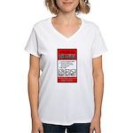 Zombie Attack! Women's V-Neck T-Shirt