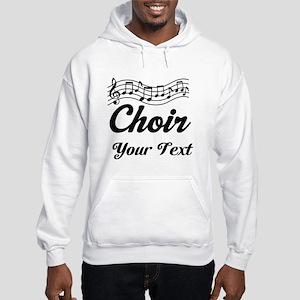 Custom Choir Musical Hooded Sweatshirt