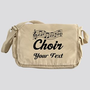 Custom Choir Musical Messenger Bag