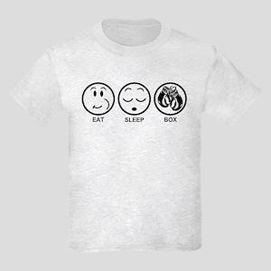 Eat Sleep Box Kids Light T-Shirt