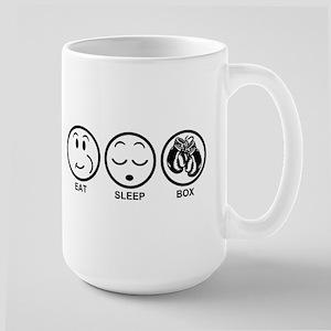 Eat Sleep Box Large Mug