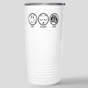 Eat Sleep Box Stainless Steel Travel Mug