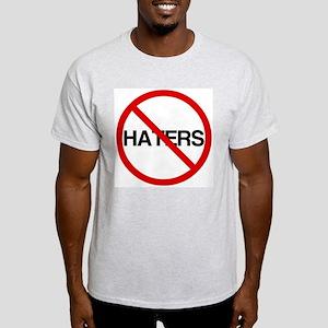 No Haters Light T-Shirt