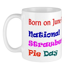 Mug: Strawberry-Rhubarb Pie Day