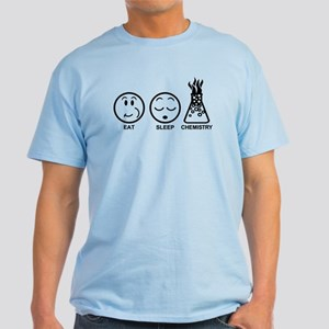 Eat Sleep Chemistry Light T-Shirt