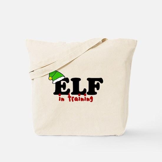 'Elf In Training' Tote Bag