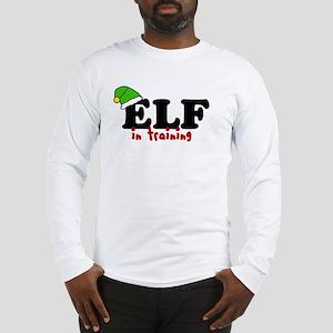 'Elf In Training' Long Sleeve T-Shirt