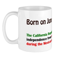 Mug: California Republic declared independence fro