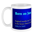Mug: England installed the New York City municipal
