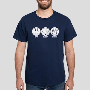 Eat Sleep Chess Dark T-Shirt