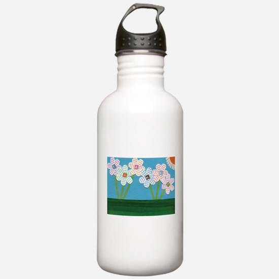 Cute Thank you Sports Water Bottle