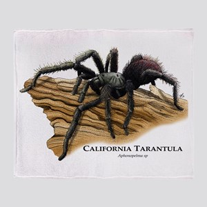 California Tarantula Throw Blanket