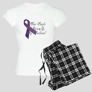 Wear Purple for my Hero Women's Light Pajamas