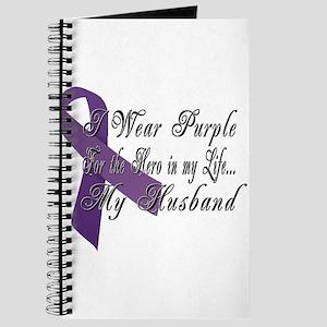 Wear Purple for my Hero Journal