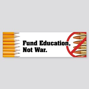Fund Education Not War