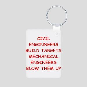 funny engineering jokes Aluminum Photo Keychain