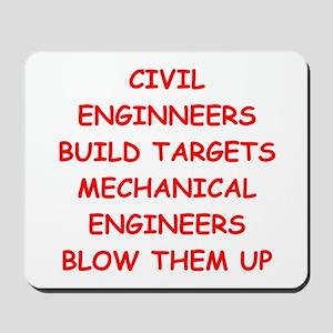 funny engineering jokes Mousepad