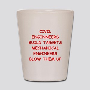 funny engineering jokes Shot Glass