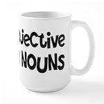 Adjective Verb Noun Large Mug