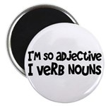 Adjective Verb Noun Magnet