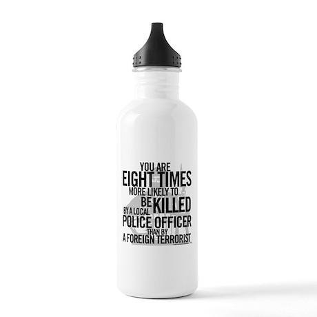 Terrorist Odds Stainless Water Bottle 1.0L