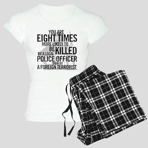Terrorist Odds Women's Light Pajamas