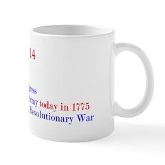 Mug: Continental Congress established the U.S. Arm