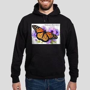 Monarch Butterfly Hoodie (dark)