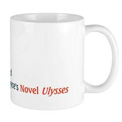 Mug: Bloomsday in Ireland in honor of James Joyce'