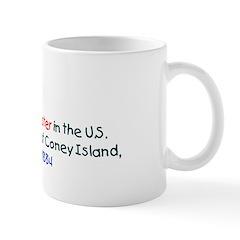 Mug: First roller coaster in the U.S. began operat