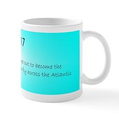 Mug: Aviator Amelia Earhart set out to become the