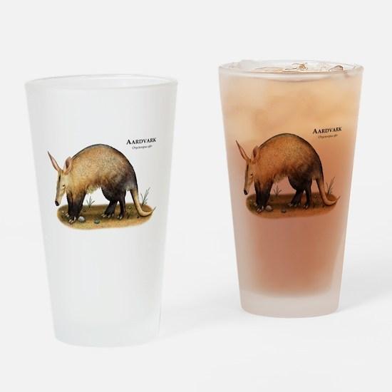 Aardvark Drinking Glass