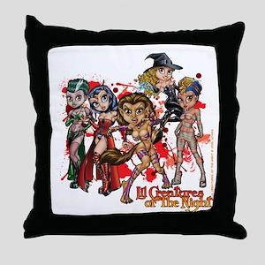 Group 001 Throw Pillow