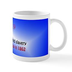 Mug: Congress prohibited slavery in U.S. territori