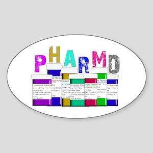 Pharmacy Sticker (Oval)