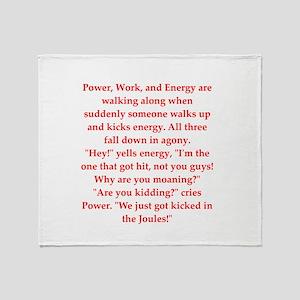 funny engineering jokes Throw Blanket